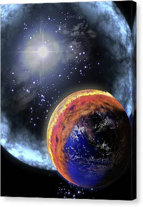 Gamma Ray Extinction Event Canvas Print by Nasa