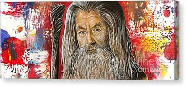Gandalf Canvas Print by Anastasis  Anastasi