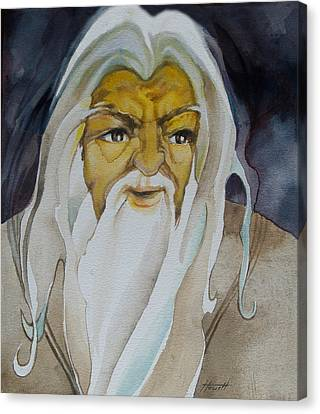Gandalf The White Canvas Print by Patricia Howitt