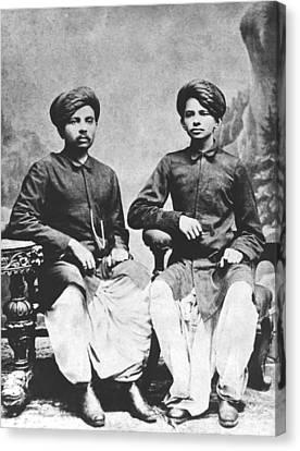 Gandhi Brothers Canvas Print