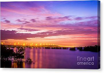 Gandy Lights Canvas Print by Marvin Spates
