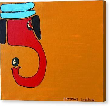 10 Ganesh Vakratundaya Canvas Print