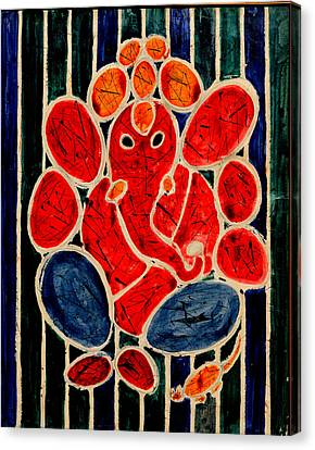 Ganesha-3 Canvas Print by Anand Swaroop Manchiraju