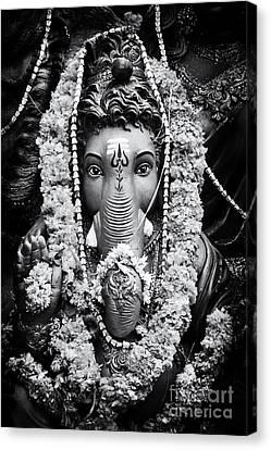 Ganapati Canvas Print - Ganesha Altar  by Tim Gainey