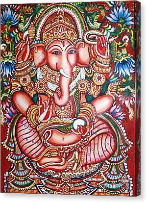 Ganesha Canvas Print by Kami