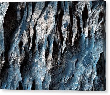 Ganges Chasma In Mars Canvas Print