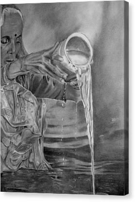 Ganges  Canvas Print by Derrick Parsons