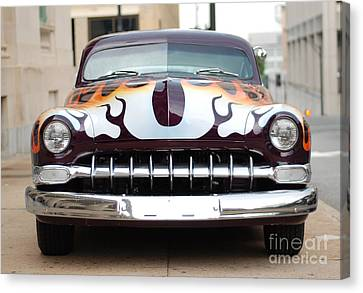 Gangster Car Canvas Print by Jt PhotoDesign