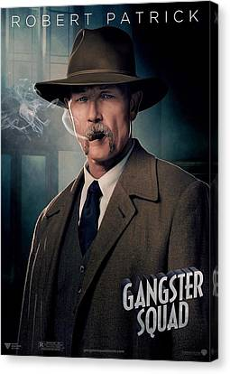 Gangster Squad Patrick Canvas Print by Movie Poster Prints