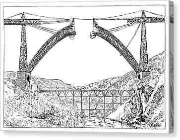 Garabit Viaduct Canvas Print
