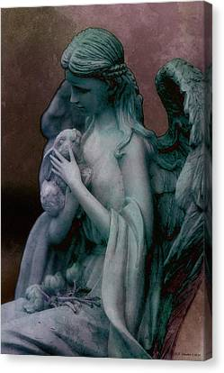 Forest Angel 3 Canvas Print