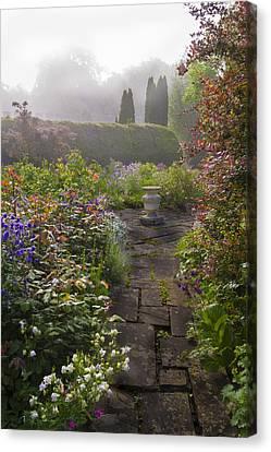 Garden At Thornbury Castle England Canvas Print