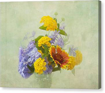 Garden Bouquet Canvas Print by Kim Hojnacki
