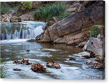 Canvas Print featuring the photograph Garden Canyon by Beverly Parks