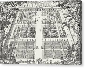 Garden Design From The Gardens Of Wilton Canvas Print