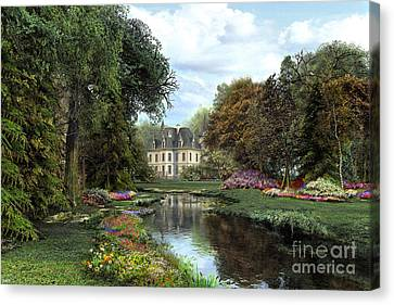 Garden Canvas Print by Dominic Davison