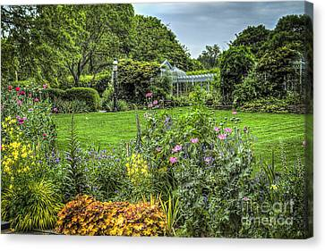 Canvas Print featuring the photograph Garden In Bloom by Vicki DeVico
