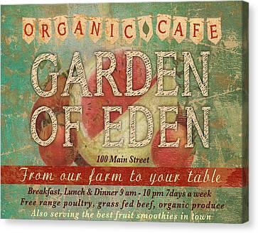 Garden Of Eden Canvas Print by Marilu Windvand