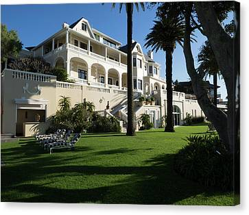 Garden Of Ellerman House, Bantry Bay Canvas Print by Panoramic Images