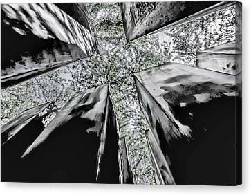 Garden Of Exile Canvas Print by Peter Benkmann