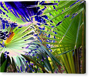 Garden Palms Canvas Print