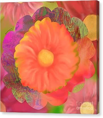 Garden Party IIi Canvas Print by Christine Fournier