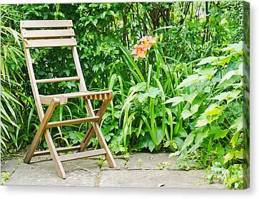 Garden Seat Canvas Print