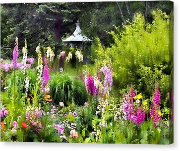Garden Splendor Canvas Print by Jessica Jenney