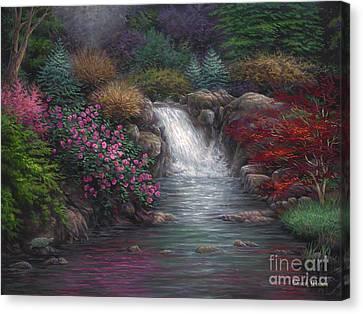 Garden Spring Canvas Print by Chuck Pinson