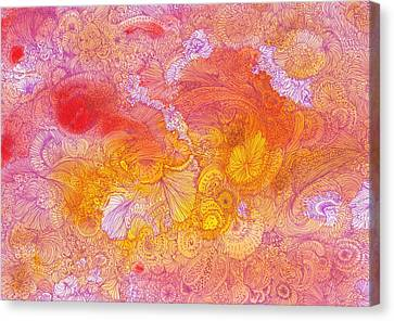 Garden - #ss14dw085 Canvas Print by Satomi Sugimoto
