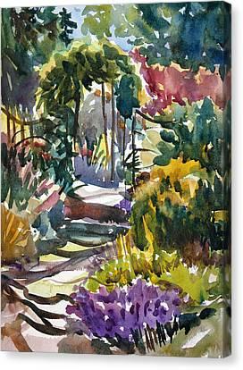 Garden Sunshine Canvas Print