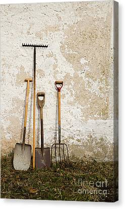 Garden Tools Canvas Print