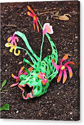 Garden Variety Fish 2 Canvas Print by Sarah Loft