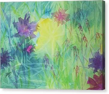 Garden Vortex Canvas Print