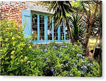 Garden Window Db Canvas Print by Rich Franco