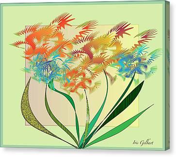 Garden Wonder Canvas Print by Iris Gelbart