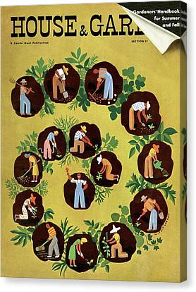 Gardeners And Farmers Canvas Print