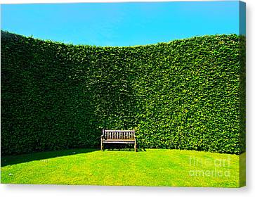 Gardening Zones Canvas Print by Boon Mee
