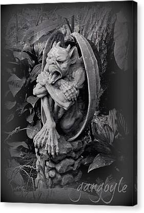 Gargoyle Canvas Print by Brenda Conrad