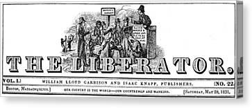 Garrison The Liberator Canvas Print