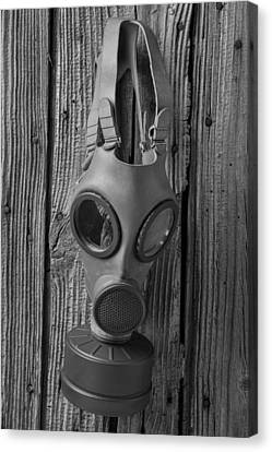 Gas Mask Canvas Print by Garry Gay