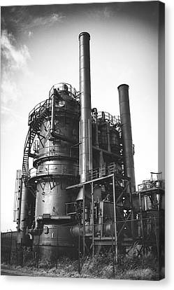 Seattle Canvas Print - Gas Works by Tanya Harrison