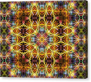 Gasket Kaleidoscope Canvas Print
