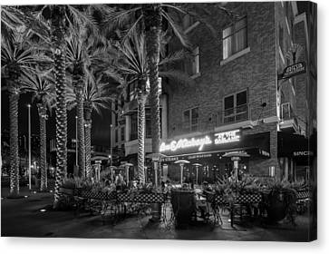 Gaslamp Evening Canvas Print