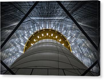 Gasometer - Big Air Package Canvas Print by Ercan Sahin