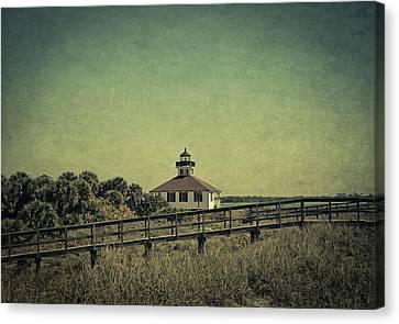 Gasparilla Island Lighthouse Canvas Print by Kim Hojnacki