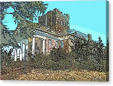 Gassaway Mansion Canvas Print by Greg Joens