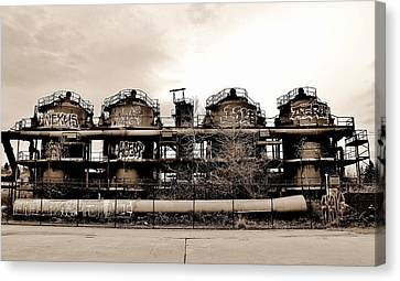 Gasworks Seattle Canvas Print by Benjamin Yeager