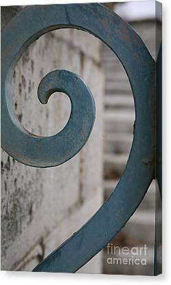 Gate Detail ...versailles Canvas Print by Lynn England