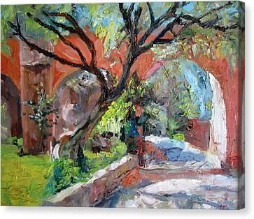 Gate Canvas Print